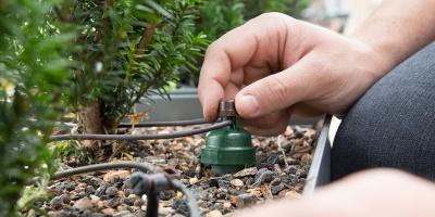 Bewässerung für Terrassen